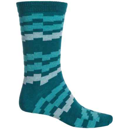 b.ella Kenny Socks - Crew (For Men) in Teal - Closeouts