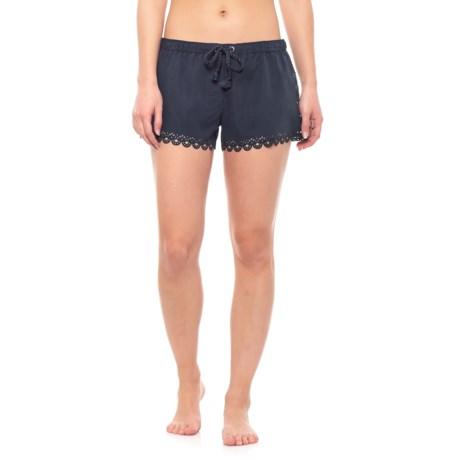 Image of Bella Laser Cut Sides and Hem Boardshorts (For Women)