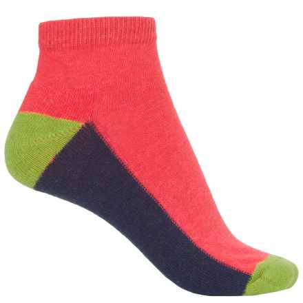 b.ella Liv Socks - Ankle (For Women) in Coral - Closeouts