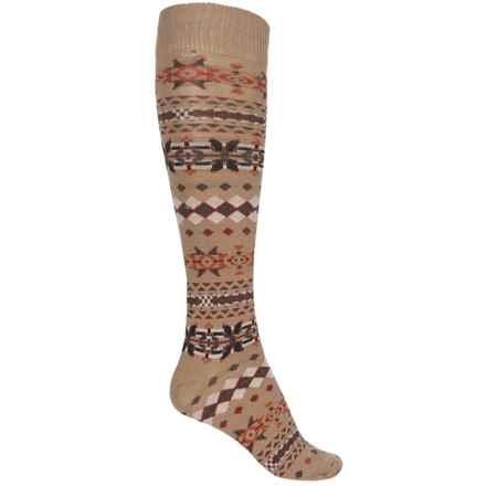 b.ella Lori Knee-High Socks - Merino Wool, Over the Calf (For Women) in Taupe - Closeouts