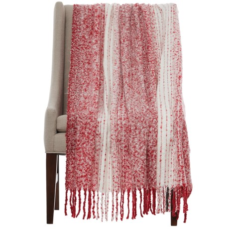 """Bella Lux Jake Throw Blanket - 50x60"""" in Red"""