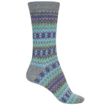 b.ella Mimi Socks - Crew (For Women) in Grey - Closeouts