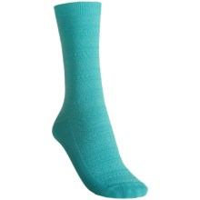 b.ella Molly Socks - Pima Cotton, Crew (For Women) in Aqua - Closeouts