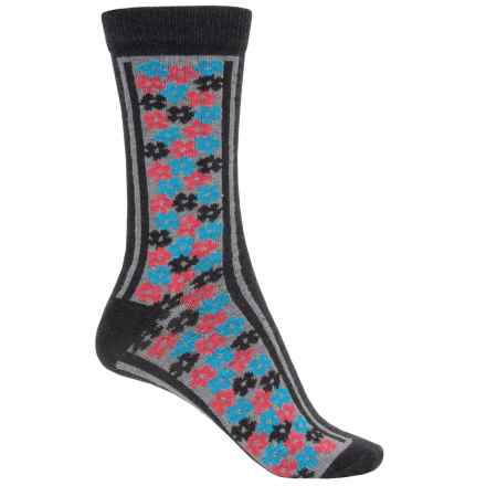 b.ella Olivia Socks - Crew (For Women) in Caviar - Closeouts