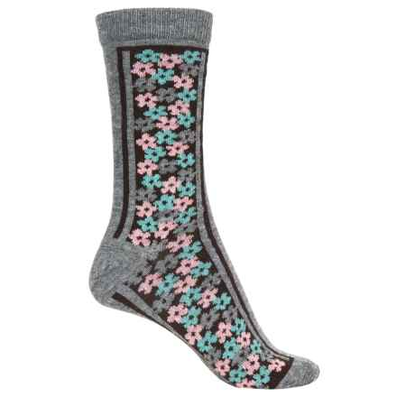 b.ella Olivia Socks - Crew (For Women) in Grey - Closeouts