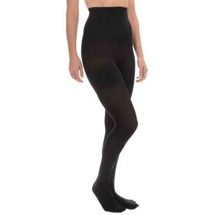 b.ella Opaque Ohira Shapewear Tights - High Rise (For Women) in Black - Closeouts