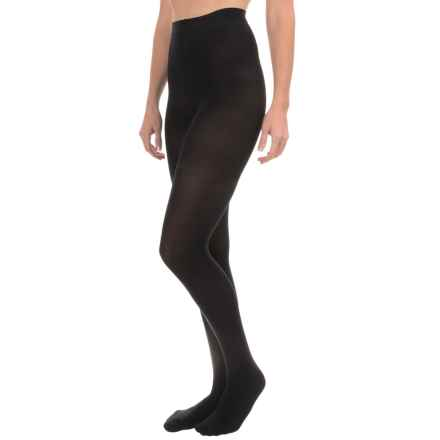 b.ella Opaque Omega Shapewear Tights - Mid Rise (For Women) in Black - Closeouts