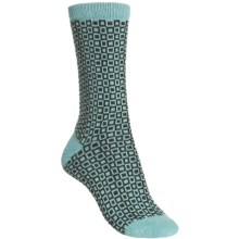 b.ella Pepper Socks - Wool-Cashmere Blend, Crew (For Women) in Turquoise - Closeouts