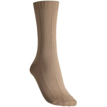 b.ella Rachel Classic Socks - Crew (For Women) in Khaki - Closeouts