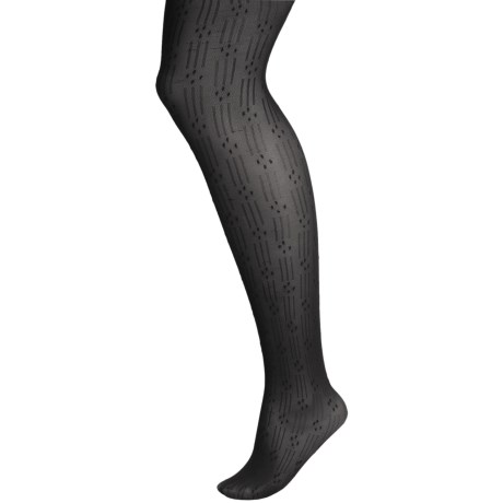 b.ella Sally Tights - Microfiber (For Women) in Black