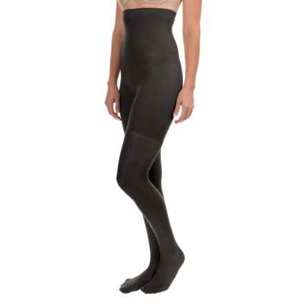 b.ella Shashi Sheer Shapewear Tights - High Rise (For Women) in Black - Closeouts