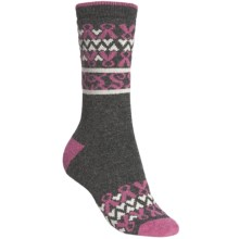 b.ella Sheila Socks - Wool-Cashmere Blend, Crew (For Women) in Charcoal - Closeouts