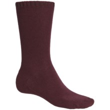 b.ella Stefano Socks - Wool-Cashmere, Crew (For Men) in Burgundy - Closeouts