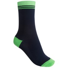 b.ella Terry Retro Rib Crew Socks (For Women) in Navy - Closeouts
