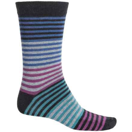 b.ella Vanya Socks - Crew (For Men) in Caviar - Closeouts
