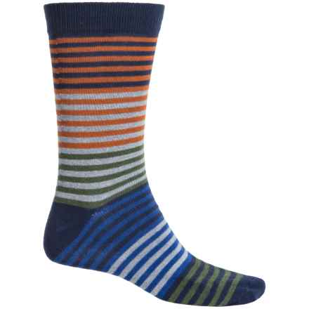 b.ella Vanya Socks - Crew (For Men) in Navy - Closeouts