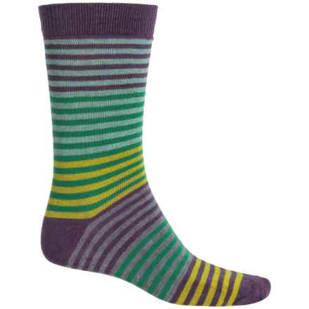 b.ella Vanya Socks - Crew (For Men) in Plum - Closeouts
