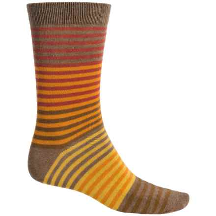 b.ella Vanya Socks - Crew (For Men) in Suede - Closeouts