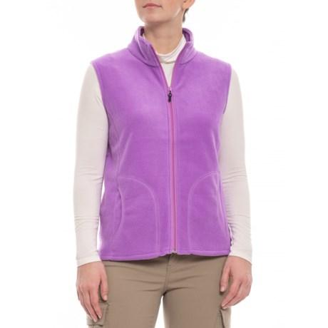 Image of Bellflower Andes Fleece Vest (For Women)