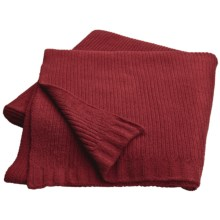 "Bellora Hospitality Micro-Chenille Throw Blanket - 50x70"" in Chili - Closeouts"