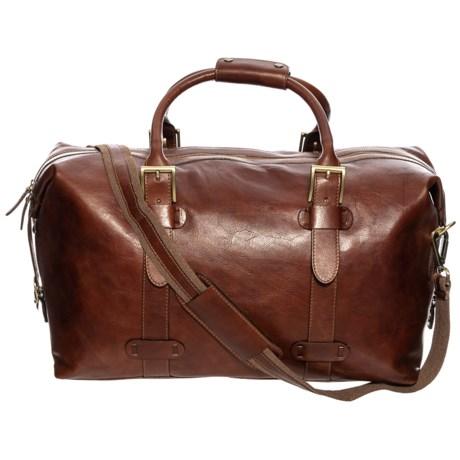 Image of Belt Loop Duffel Bag - Leather