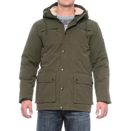Ben Sherman Original Talson Double-Hood Jacket - Insulated (For Men) in Olive
