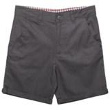 Ben Sherman Roll Cuff Twill Shorts (For Big Boys)