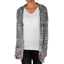 Bench Aqueduct Cardigan Sweater - Hooded (For Women) in Dark Shadow Marl - Closeouts