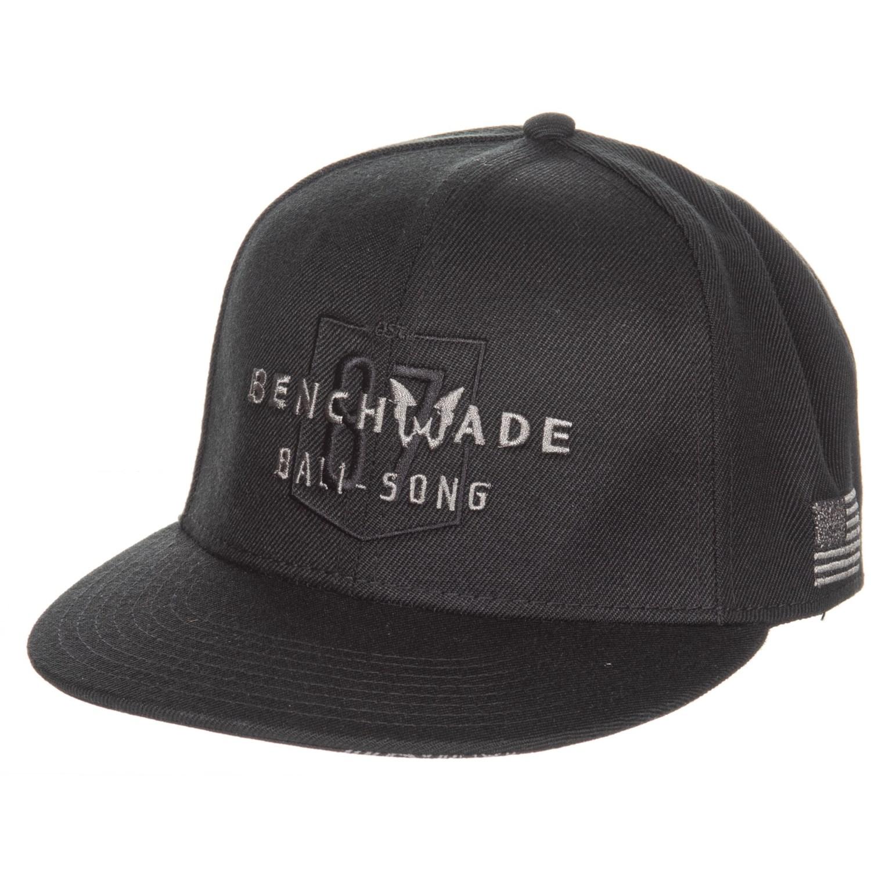 24ed7733 Benchmade Bali-Song Logo Legend Baseball Cap in Black ...