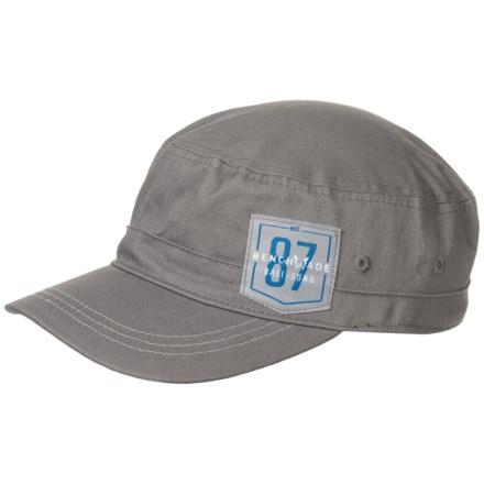 1ee911c7eea Benchmade Logo Cadet Flexfit® Hat (For Women) in Dark Grey - Closeouts