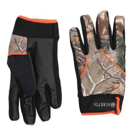 Beretta Active Gloves - Waterproof (For Men) in Camo Blaze Orange - Closeouts