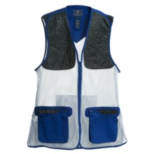Beretta Ambidextrous Shooting Vest (For Women) in Beretta Blue - Closeouts