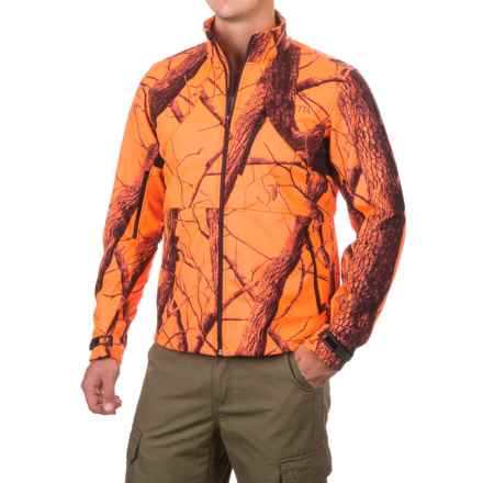 Beretta Big Game Fleece Jacket (For Men) in Camo Ap Blaze Orange - Closeouts