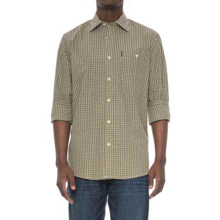 Beretta Classic Drip-Dry Shirt - Long Sleeve (For Men) in Green Check - Overstock