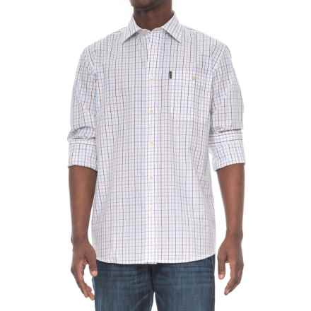 Beretta Classic Drip-Dry Shirt - Long Sleeve (For Men) in White Check - Overstock