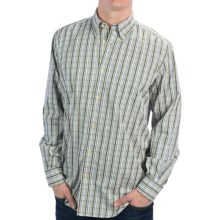 Beretta Drip Dry Shirt - Button-Up, Long Sleeve (For Men) in Green/Blue Plaid - Closeouts