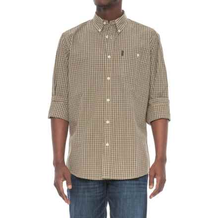 Beretta Drip-Dry Shirt - Long Sleeve (For Men) in Green Check - Overstock