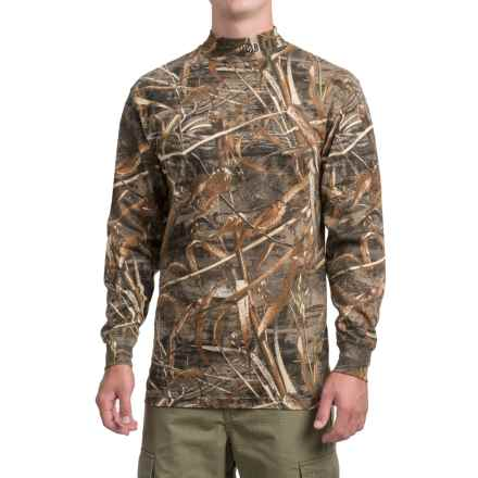 Beretta Mock Turtleneck - Long Sleeve (For Men) in Camo Real Tree Max 5 - Closeouts