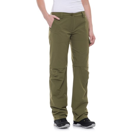 Beretta Quick-Dry Pants - Convertible (For Women) in Avacado