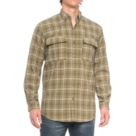 Beretta Quick-Dry Shirt - Long Sleeve (For Men and Big Men) in Olive