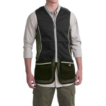 Beretta Silver Pigeon Shooting Vest (For Men and Big Men) in Hunter Green/Black - Closeouts
