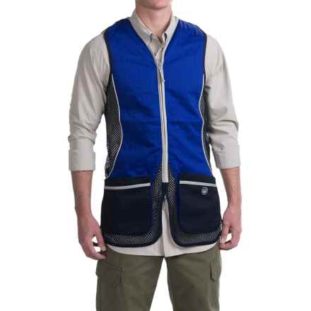 Beretta Silver Pigeon Shooting Vest (For Men and Big Men) in Navy/Excel Blue - Closeouts