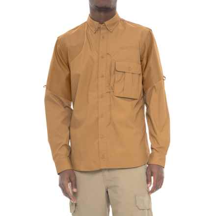 Beretta Upland Frontload Shirt - Long Sleeve (For Men) in Light Brown/Brown - Closeouts