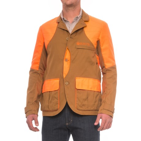 Beretta Upland Light Jacket (For Men) - LIGHT BROWN/ORANGE (2XL ) thumbnail