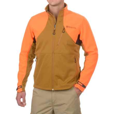 Beretta Upland Polartec® Fleece Jacket (For Men) in Light Brown/Orange Hv - Closeouts
