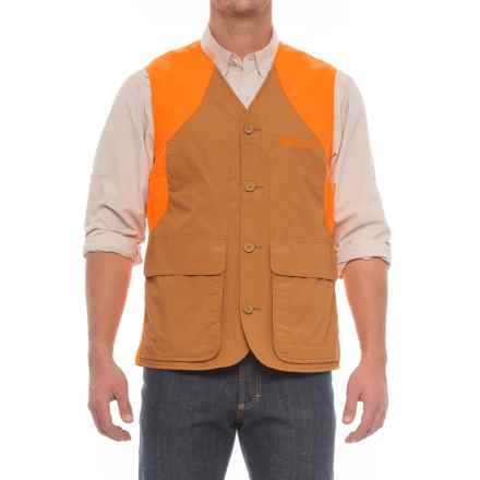 Beretta Upland Ultralight Vest (For Men) in Light Brown/Orange - Closeouts
