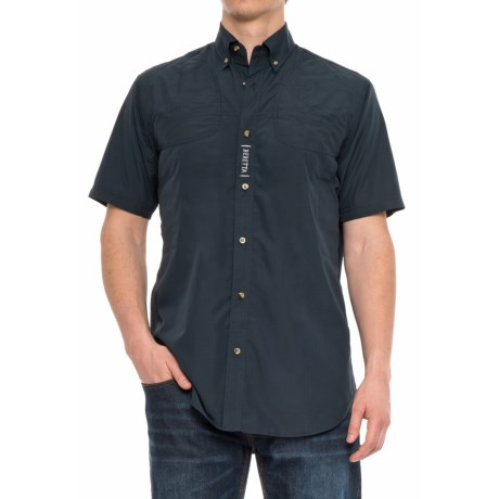 Beretta V-Tech Shooting Shirt - Short Sleeve (For Men) in Navy