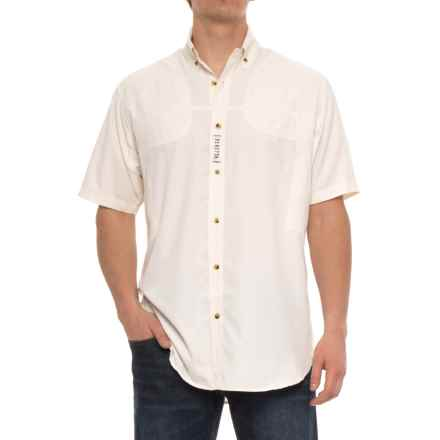 Beretta V-Tech Shooting Shirt - Short Sleeve (For Men) in White - Closeouts