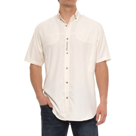 Beretta V-Tech Shooting Shirt - Short Sleeve (For Men) in White