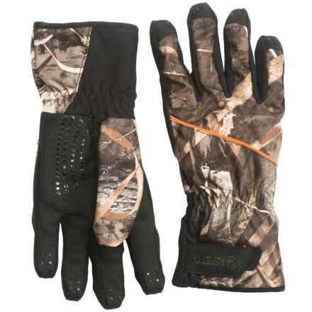 Beretta Waterfowler Gloves - Waterproof (For Men) in Camo Real Tree Max 5 - Closeouts